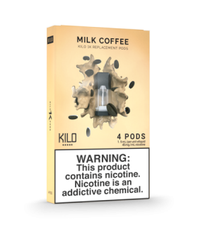 POD MILK COFFEE 20MG - KILO