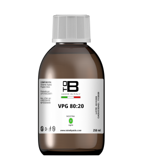 BASE 250ML 20PG/80VG - TOB