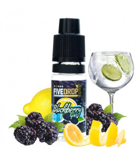 BLACKBERRY GINS AROMA 10ML - FIVE DROPS