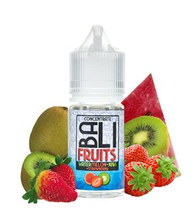 AROMA WATERMELON + KIWI + STRAWBERRY 30ML - BALI FRUITS - KINGS CREST