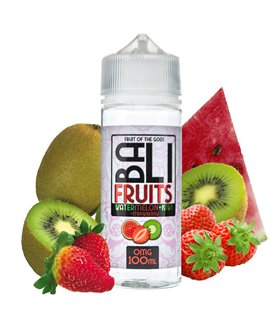 WATERMELON + KIWI + STRAWBERRY 100ML - BALI FRUITS - KINGS CREST
