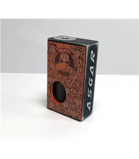 MECH MOD BF ASGAR 18650 DISTRESSED ORANGE