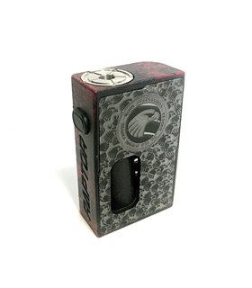 MECH MOD BF RAPTOR 18650 BRUSH RED