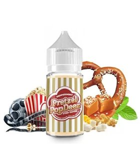 AROMA POP DEEZ PEPPERMINT PRETZEL 30ML - STEEP VAPORS