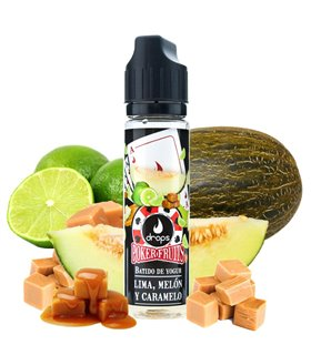 LIMA MELON CARAMELO 50ML POKERFRUITS - DROPS