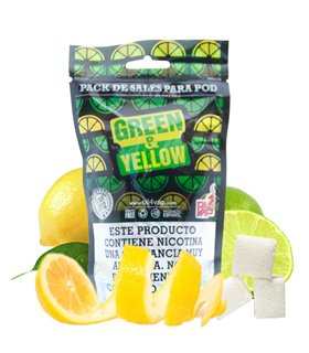 PACK GREEN & YELLOW SALES 30ML - OIL4VAP