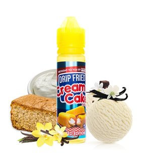 DRIP FRIED CREAM CAKE 50ML - FRYD