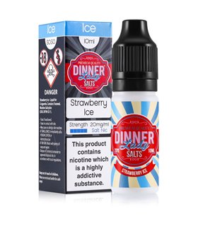 STRAWBERRY ICE 10ML SALES - DINNER LADY