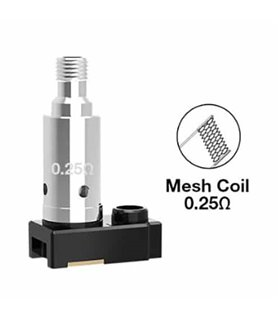 RESISTENCIA ORION PLUS MESH 0.25OHM - LOST VAPE