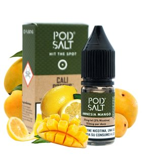 AMNESIA MANGO 10ML 20MG SALES FUSIONS - POD SALT