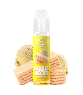 VANILLA BISCUIT 50ML - ESSENTIAL VAPE