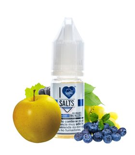 GRAPPLE BERRY 10ML I LOVE SALTS - MAD HATTER