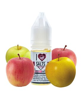 JUICY APPLES 10ML I LOVE SALTS - MAD HATTER