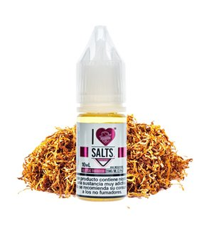 CLASSIC TOBACCO 10ML I LOVE SALTS - MAD HATTER
