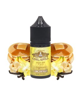 LAYOVER AROMA 30ML - COIL SPILL