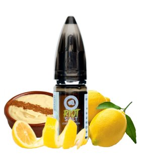 LOADED LEMON CUSTARD SALES 10ML - RIOT SQUAD SALT