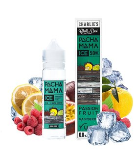 PASSION FRUIT RASPBERRY YUZU ICE 50ML - PACHAMAMA