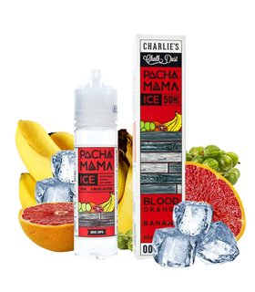 BLOOD ORANGE BANANA GOOSEBERRY ICE 50ML - PACHAMAMA