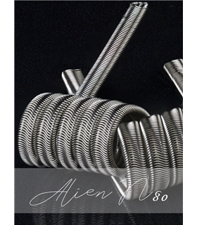 ALIEN FULL N80 0.12OHM - RICK VAPES