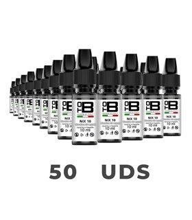 PACK 50X NICOKITS NIX 60PG/40VG 10ML 20MG - TOB