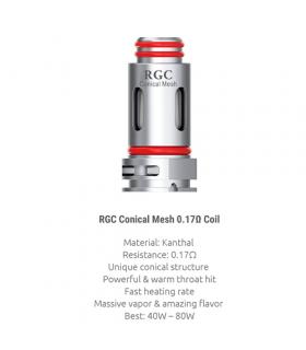 Resistencia RPM80 RGC Conical Mesh (1pcs) - Smok