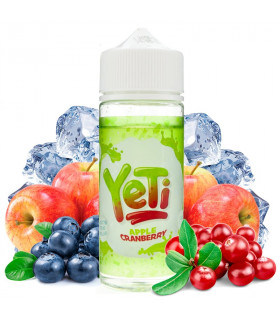 Apple Cranberry 100ml- Yeti Eliquid