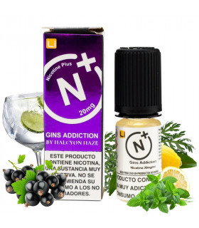 Gins Addiction 10ml - Halcyon Haze Salts