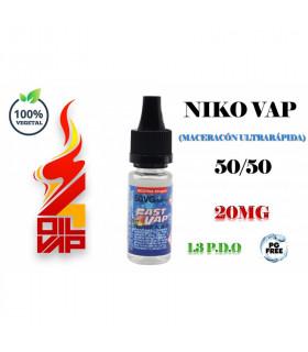 NIKO-VAP 50VG/50 1.3PDO - FAST4VAP
