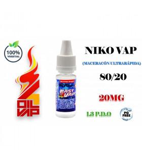 NIKO-VAP 80VG/20 1.3PDO - FAST4VAP