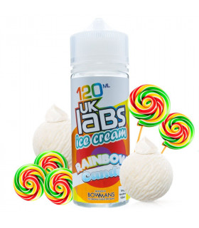 Rainbow Candy 100ml - UK Labs Ice Cream