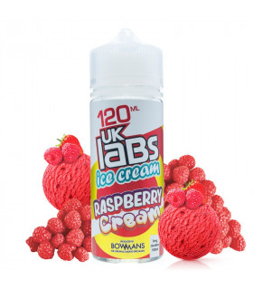 Raspberry Cream 100ml - UK Labs Ice Cream