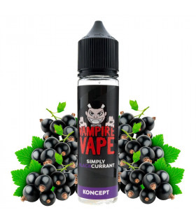 Simply Blackcurrant 50ml - Koncept by Vampire Vape