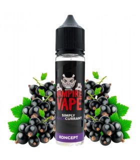 Simply Blackcurrant 50ml - Koncept by Vampire Vape