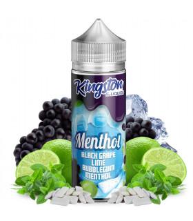 Black Grape, Lime Bubblegum Menthol 100ml - Kingston E-liquids