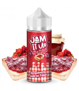 Strawberry Jam On Toast 100ml - Jam It Up