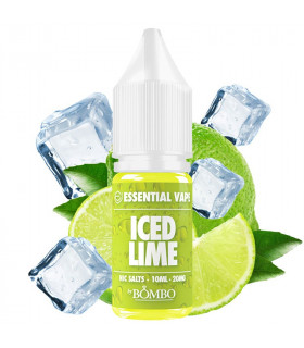 Iced Lime 10ml - Essential Vape Nic Salts by Bombo