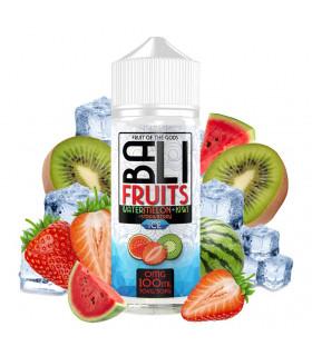 Watermelon + Kiwi + Strawberry Ice 100ml - Bali Fruits by Kings Crest