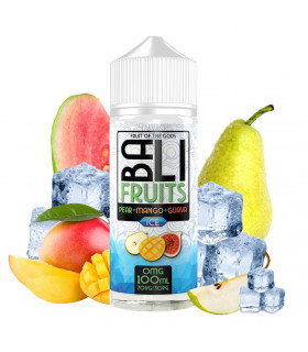 Pear + Mago + Guava Ice 100ml - Bali Fruits by Kings Crest