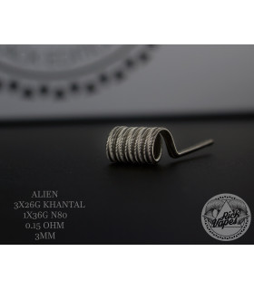 ALIEN by Rick Vapes Coils