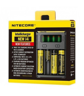 Cargador i4 NITECORE Intellicharger