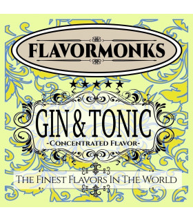 GIN & TONIC FLAVOR 10ML FLAVORMONKS