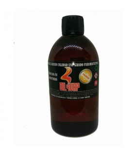 500ML 80vg/20pg SIN NICOTINA - BASE OIL4VAP