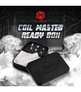 Pack 6 resistencias con algodón Ready Box - Coil Master