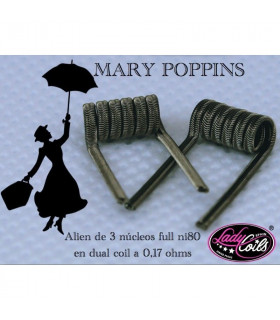 MARY POPPINS - LADY COILS