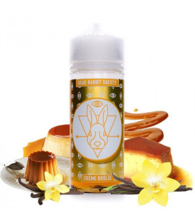 DRS GOLD WHITE - CREME BRULEE 100ml - DRS JUICE
