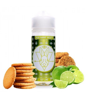 DRS GREEN WHITE - KEY LIME 100ml - DRS JUICE