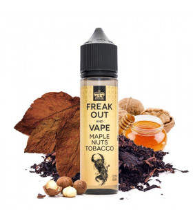 Maple Nuts Tobacco 50ml - Freak Out and Vape