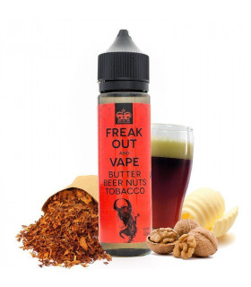 Butter Beer Nuts Tobacco 50ml - Freak Out and Vape
