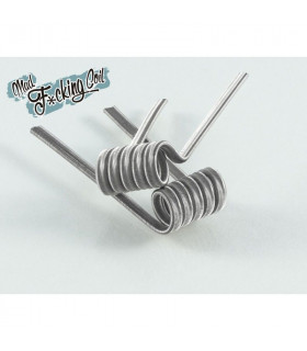 MAD F*CKING COIL NI80 0.26/0.13 (2 PIEZAS) - BACTERIO COIL