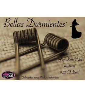 BELLA DURMIENTE - ALIEN 0.25/0.50 - LADY COILS